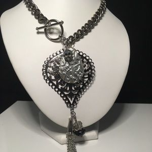Hand made necklace. One off a kind.